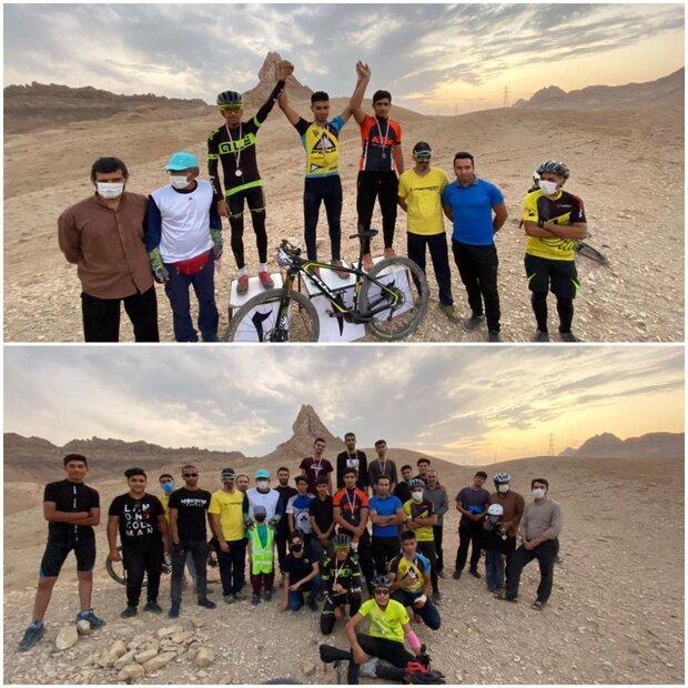 اولین دوره رقابت های دوچرخه سواری کوهستان در قم برگزار گشت