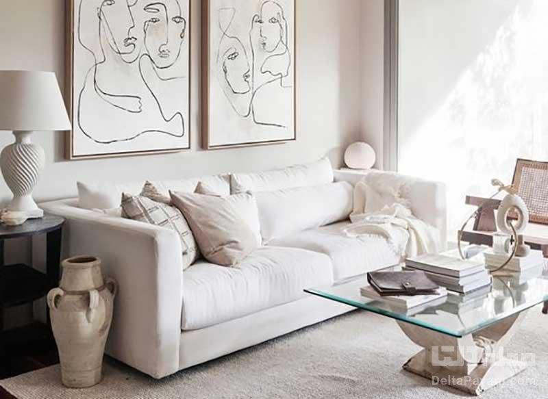 5 ترکیب رنگ زیبا با سفید برای دکوراسیون