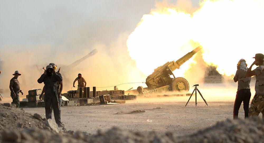 شروع عملیات نظامی علیه داعش در جنوب موصل