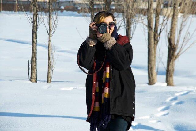 زندگی تنها بانوی ایرانی منتخب جشنواره عکس فیاپ در قرنطینه