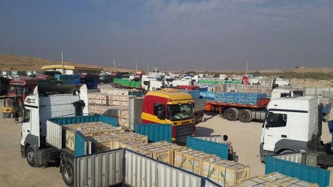 صادرات کالاهای اساسی از مرز مهران ممنوع است