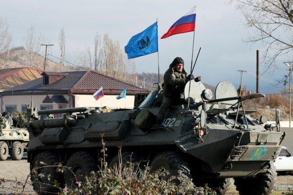 روسیه محاصره نیروهای حافظ صلح در قره باغ را تکذیب کرد