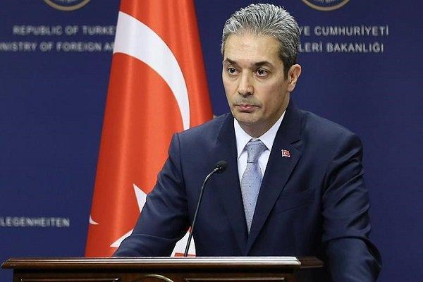 آنکارا به بازرسی از کِشتی ترکیه در مدیترانه واکنش نشان داد