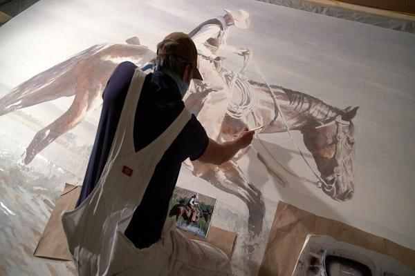عظیم ترین نقاشی دنیا در کلرادو