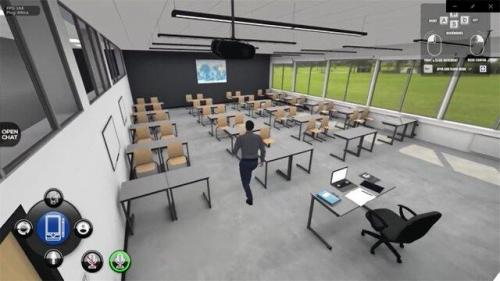 ابداع مدرسه مجازی 3بعدی با امکان تعامل دانش آموز و معلم از طریق آواتار