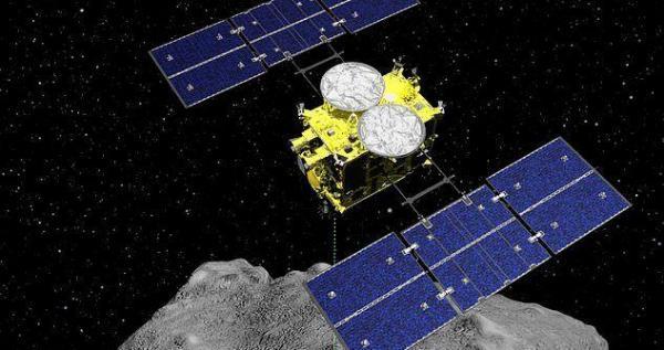 کپسول حاوی نمونه های سیارک ریگو به زمین بازگشت