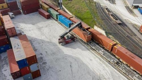 دومین قطار باری ترکیه به چین به راه افتاد