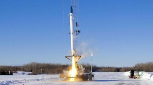 دسر هلندی همراه نمونه اولیه یک موشک به فضا رفت