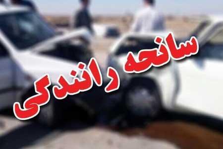 تصادف رانندگی در محور ایلام - حمیل 5 کشته برجا گذاشت
