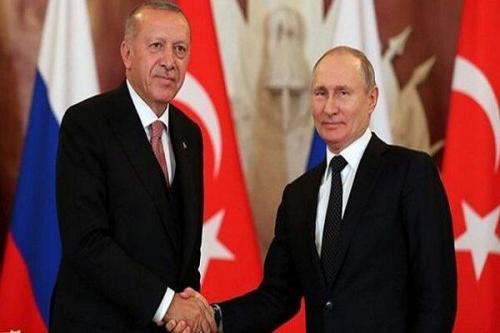 اردوغان و پوتین تلفنی مصاحبه کردند