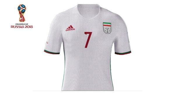 زیباترین پیراهن تیم های ملی فوتبال دنیا، صندلی عجیب ایران در یک نظرسنجی خبرنگاران
