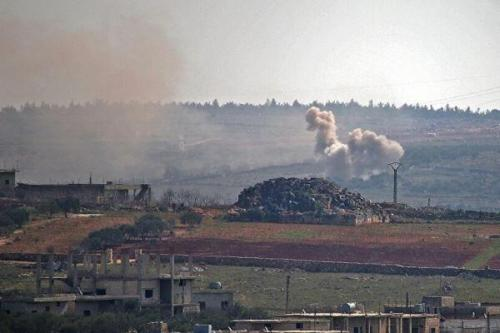 حمله به پایگاه آمریکا در دیرالزور سوریه، زخمی شدن چند نظامی
