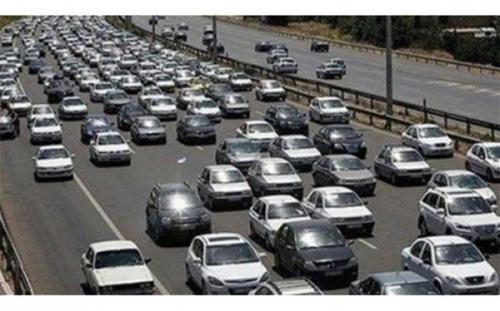 ترافیک سنگین در محورهای ورودی پایتخت