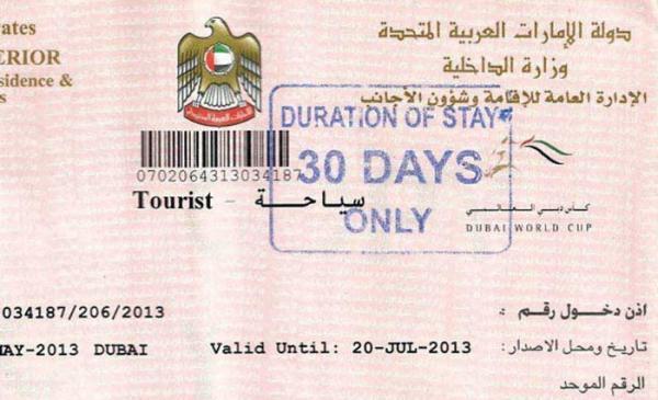 مدارک و هزینه ویزا دبی در سال 2019