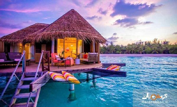 مناظر حیرت انگیز جزایر گردشگری مالدیو