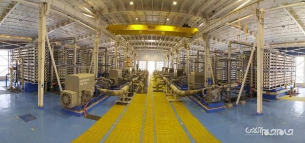آیین افتتاح طرح های بزرگ صنعت آب در سه استان هرمزگان، مازندران و خوزستان