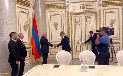ظریف با نخست وزیر ارمنستان ملاقات کرد