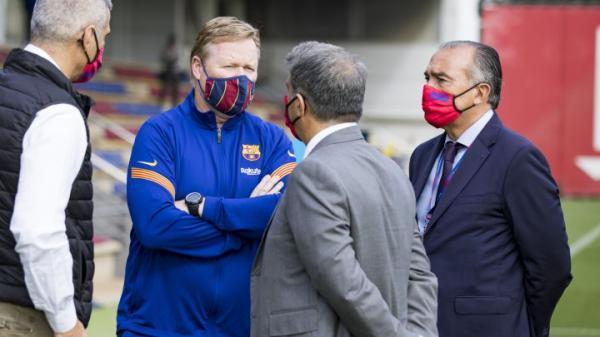 7 خروجی احتمالی بارسلونا پس از ابقای کومان