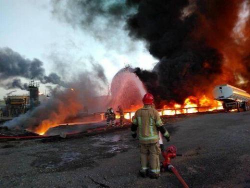 جزئیات آتش سوزی در پالایشگاه تهران از زبان فرماندار شهرری