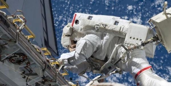 نخستین صفحه خورشیدی تازه ایستگاه فضایی نصب شد