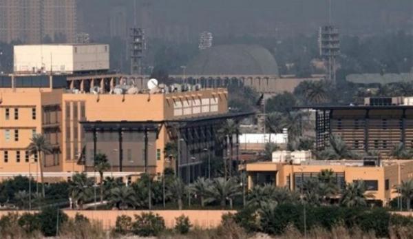 سفارت آمریکا در بغداد هدف حملات راکتی و پهپادی قرار گرفت
