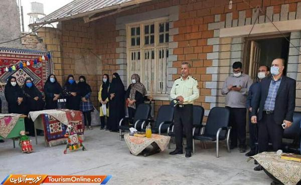 نمایشگاه صنایع دستی در هفتکل برپا شد