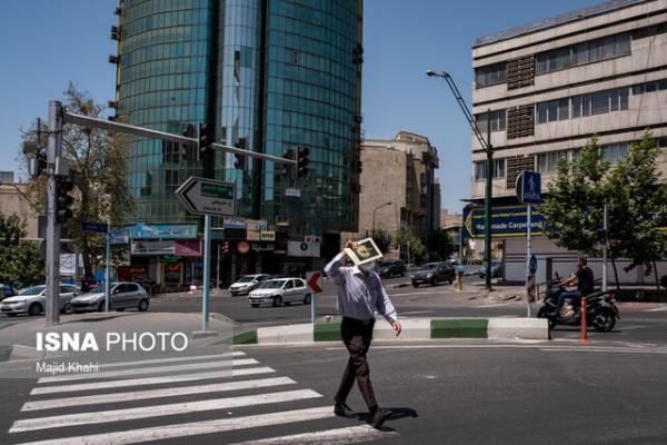 دمای تهران به 40 درجه می رسد